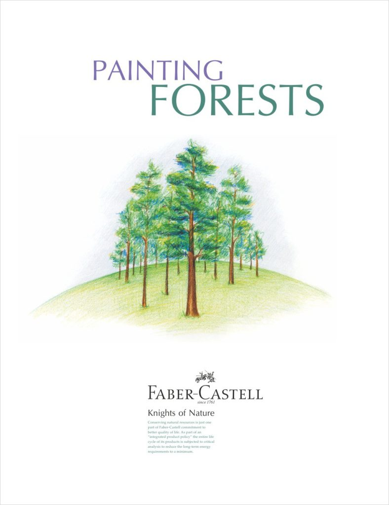 Painting Forests Poster