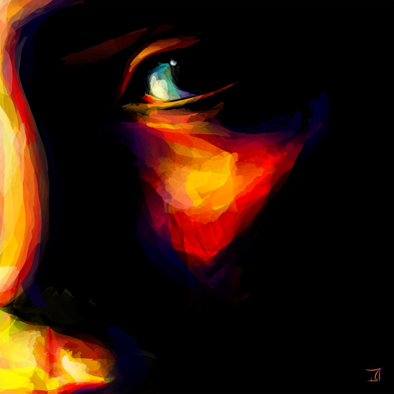 Fire Face Vectors