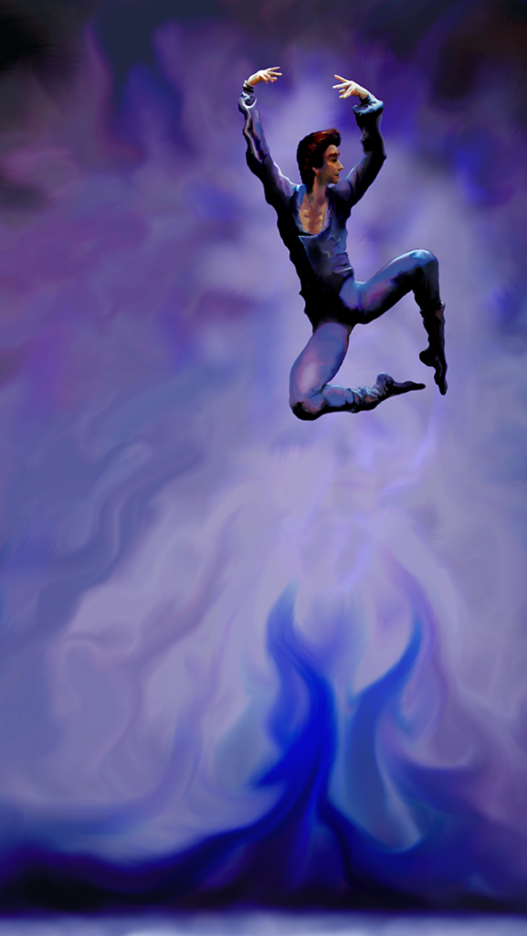 Ballet Dancer Phone Wallpaper
